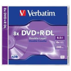DVD+R DL Verbatim 43541, 8x, 8.5GB, Jewel Case