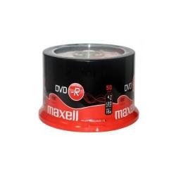 DVD-R printabil 4.7GB 16x 50buc pe cutie Maxell, DVD-R/PR-4.7GB-16X-CBOX50-MXL