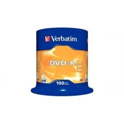 DVD-R Verbatim 16X, 4.7GB, 100 buc, Spindle