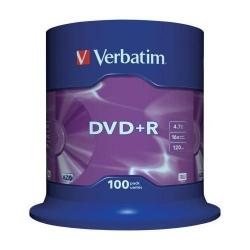 DVD+R Verbatim 43551, 16x, 4.7GB, Matt Silver