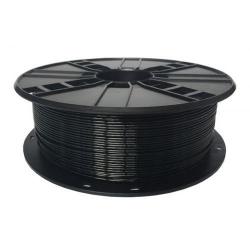 Filament Gembird PETG, 1.75mm, 1kg, Black