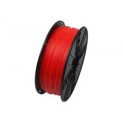Filament Gembird PLA, 1.75mm, 1kg, Fluorescent Red