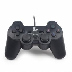 Gamepad Gembird JPD-UDV2-01 2 bucati, USB, Black