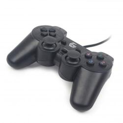 Gamepad Gembrid JPD-UDV-01, Dual Vibration, PC, USB, Black