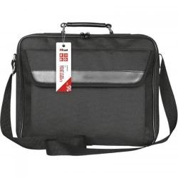 Geanta Trust Atlanta pentru laptop de 16 inch, Black