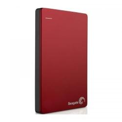 Hard Disk Portabil Seagate Backup Plus 1TB, red, USB3.0