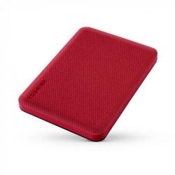 Hard Disk portabil Toshiba Canvio Advance 1TB, USB 3.0, 2.5inch, Red