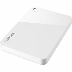 Hard disk portabil Toshiba Canvio Advance, 2TB, USB 3.0, 2.5inch, White