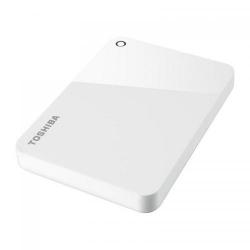 Hard Disk portabil Toshiba Canvio Advance Series, 1TB, USB 3.0, 2.5inch, White