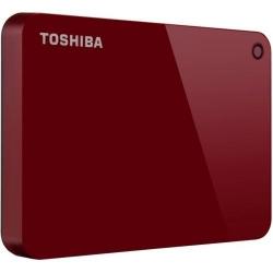 Hard Disk portabil Toshiba Canvio Advance Series, 2TB, USB 3.0, 2.5inch, Red