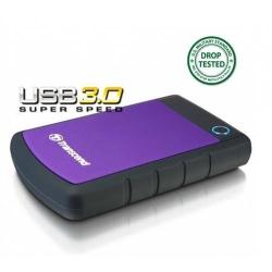 Hard Disk Portabil Transcend 25H3P 1TB, negru, USB3.0