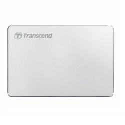 Hard Disk portabil Transcend StoreJet 25C3S 1TB, USB 3.1 Tip C, 2.5inch, Silver