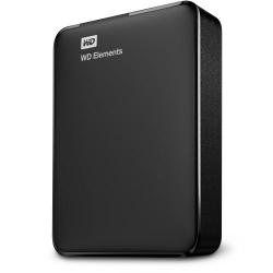 Hard Disk Portabil Western Digital Elements 3TB, black, 2.5inch