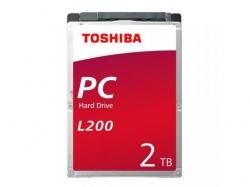 Hard Disk Toshiba L200 2TB, SATA, 128MB, 2.5inch, Bulk