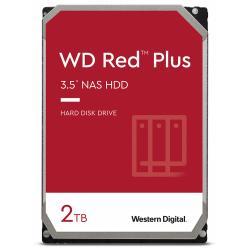 Hard Disk Western Digital Red Plus NAS 2TB, SATA3, 128MB, 3.5inch