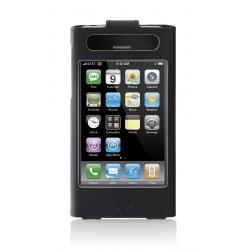 Husa Belkin pentru iPhone 3G, Leather Sleeve with Clip, Black