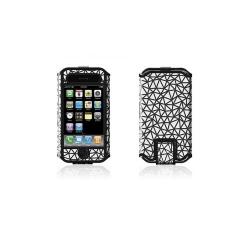 Husa Belkin pentru iPhone 3G, Micro Grip, Black/White