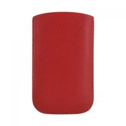 Husa de protectie 4World Versitale 07800, Piele ecologica, 12x6.5cm, Red