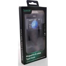 Husa de protectie Spacer Magnetic S-View pentru Iphone 7