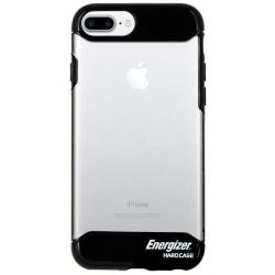 Husa Energizer ENCOSPIP7PBK pentru Apple iPhone 6 Plus / 7 Plus / 8 Plus (Negru/Transparent)