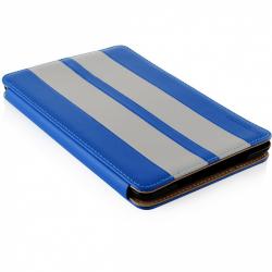 Husa Modecom California Little Race pentru Apple iPad Mini, Blue-White