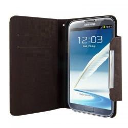Husa protectie 4World 09138 pentru Galaxy Note 2, 5.5inch, Black