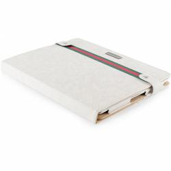 Husa/Stand Modecom California Young pentru Apple iPad 2, iPad 3, White