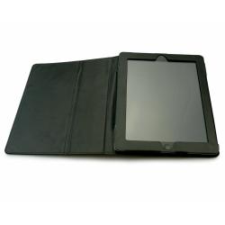 Husa/Stand Sandberg CoverStand Leather pentru iPad 2/3/4, 9.7inch, Black