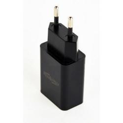 Incarcator retea Energenie by Gembird EG-UC2A-03, 1x USB, 2.1A, Black
