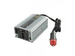 Invertor de la 12V DC la 230V AC, unda sinus modulat putere max: 200W-WE-BL
