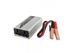Invertor de la 12V DC la 230V AC unda sinus modulat putere max: 500W-WE-BL