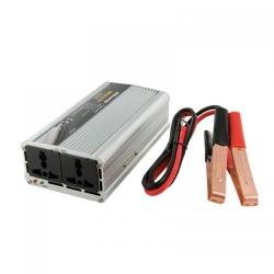 Invertor tensiune Whitenergy 06583 DC/AC de la 12V DC la 230V AC 400W, 2 AC receptacle