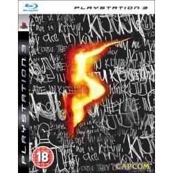 JOC RESIDENT EVIL 5 -- PS3