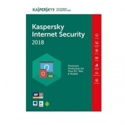 Kaspersky Internet Security 2018 3Device/1Year, Renewal Retail