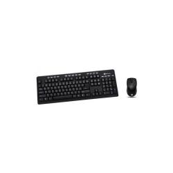 Kit Serioux SRX-MKM5500 - Tastatura, USB, Black + Mouse Optic, USB, Black