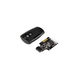 Kit telecomanda wireless Silverstone ES02 pentru pornirea/oprirea PC-ului, USB, SST-ES02-USB