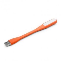 Lampa Gembird pentru laptop, USB, Orange