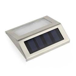Lampa solara cu LED de perete Maclean MCE119, 6-10h, comutator ON/OFF