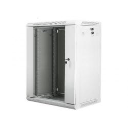Lanberg wall-mounted, 19inch, 15U, 600x450mm, Grey