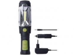 Lanterna de lucru cu LED COB 3W + 6 LED 5mm cu acumulator 3.7V 2.5Ah TORCH-P4518