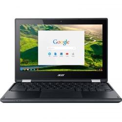 Laptop 2-in-1 Acer Chromebook R11 C738T, Intel Celeron Quad Core N3160, 11.6inch Touch, RAM 4GB, eMMC 64GB, Intel HD Graphics 400, Chrome OS
