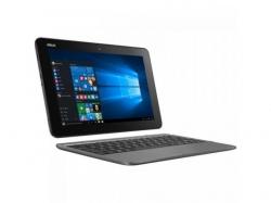Laptop 2-in-1 Asus Transformer Book T101HA-GR004T, Intel Atom x5-Z8350, 10.1inch Touch, RAM 2GB, eMMC 64GB, Intel HD Graphics 400, Windows 10, Grey