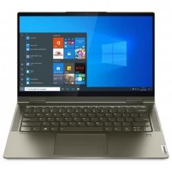 Laptop 2-in-1 Lenovo Yoga 7 14ITL5, Intel Core i5-1135G7, 14inch Touch, RAM 16GB, SSD 512GB, Intel Iris Xe Graphics, Windows 10, Dark Moss