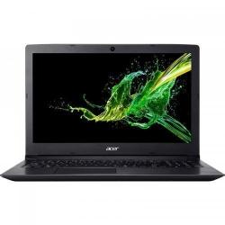 Laptop Acer Aspire 3 A315-54, Intel Core i5-8265U, 15.6inch, RAM 8GB, SSD 256GB, Intel UHD Graphics 620, Linux, Obsidian Black