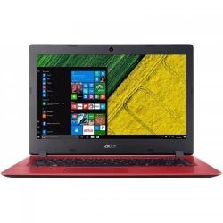 Laptop Acer Aspire A114-31, Intel Pentium Quad Core N4200, 14inch, RAM 4GB, eMMC 64GB, Intel HD Graphics 505, Windows 10, Oxidant Red