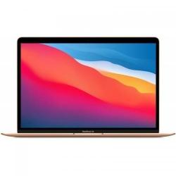 Laptop Apple New MacBook Air 13 (Late 2020) with Retina True Tone, Apple M1 Chip Octa Core, 13.3inch, RAM 8GB, SSD 256GB, Apple M1 7-core, MacOS Big Sur, Gold
