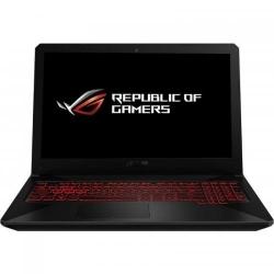 Laptop ASUS TUF FX504GE-E4100, Intel Core i7-8750H, 15.6inch, RAM 8GB, SSH 1TB, nVidia GeForce GTX 1050 Ti 4GB, No OS, Gun Metal