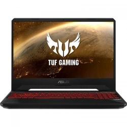 Laptop ASUS TUF FX505GE-AL399, Intel Core i7-8750H, 15.6inch, RAM 8GB, SSHD 1TB, nVidia GeForce GTX 1050 Ti 4GB, No OS, Black