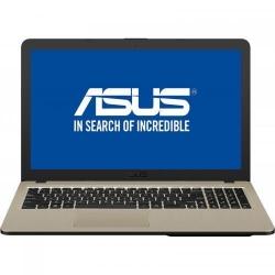 Laptop Asus VivoBook 15 X540UA-DM1153, Intel Core i3-7020U, 15.6inch, RAM 4GB, SSD 256GB, Intel HD Graphics 620, Endless OS, Chocolate Black