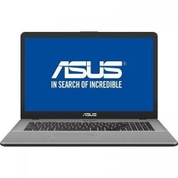 Laptop ASUS VivoBook Pro 17 N705FN-GC023, Intel Core i7-8565U, 17.3inch, RAM 8GB, HDD 1TB, nVidia GeForce MX150 2GB, Endless OS, Grey